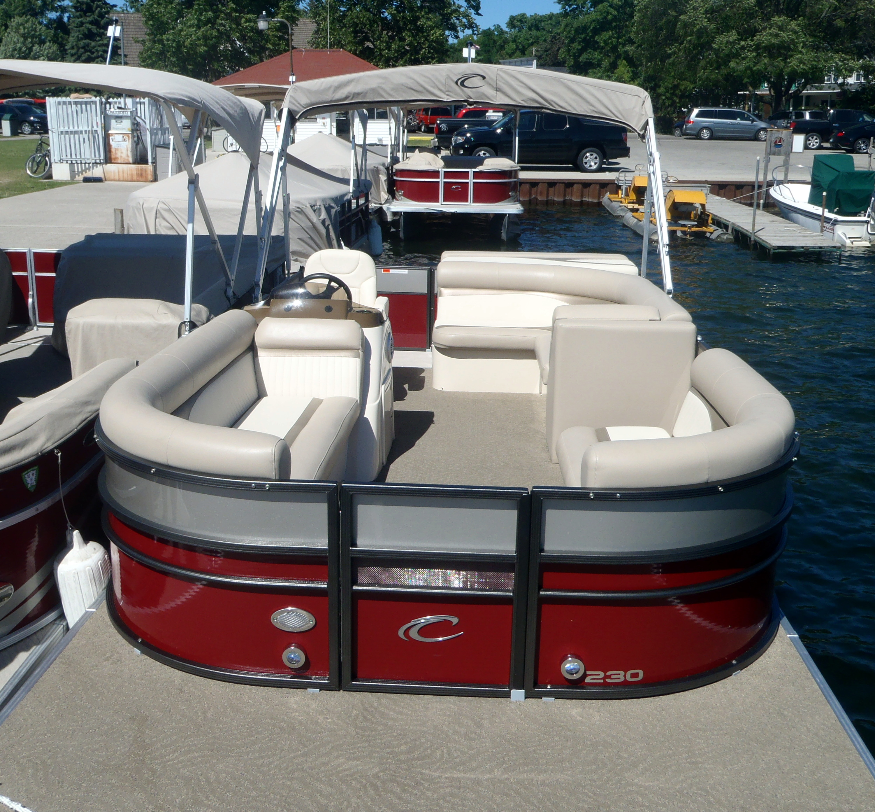 South Shore Pier Door County Boat Rentals Pontoon Boats - Picnic table boat for sale